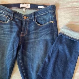 FRAME DENIM Le Garçon 25 premium jeans